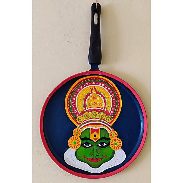Online Kathakali Hand Painted Pan