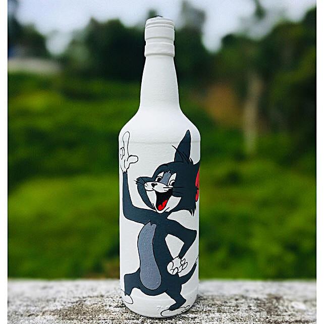 Online Cartoon Bottle
