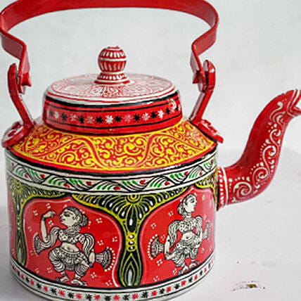 Hand Painted Teapot For Home Décor