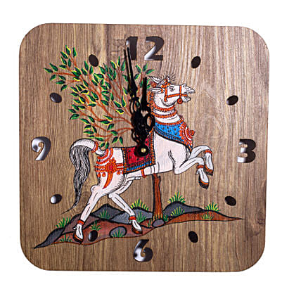 Handpainted Claasic Art Wall Clock Online