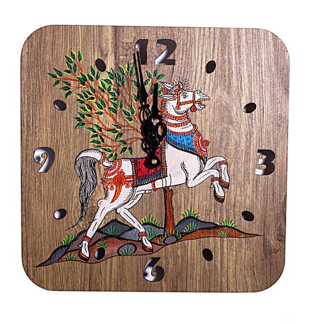Handpainted Claasic Art Wall Clock Online:Wall Clocks