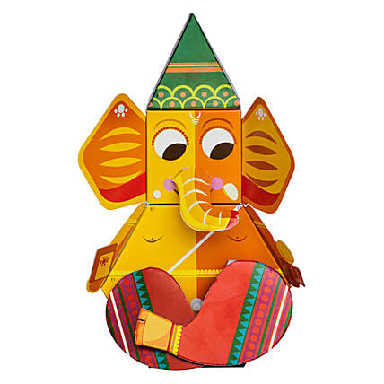 Ganpati 3D DIY Paper Craft Kit