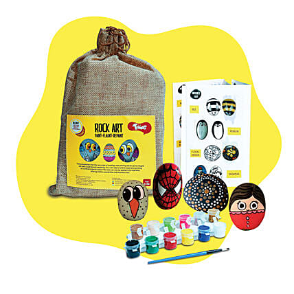 Rock Painting Kit:Kids Toys