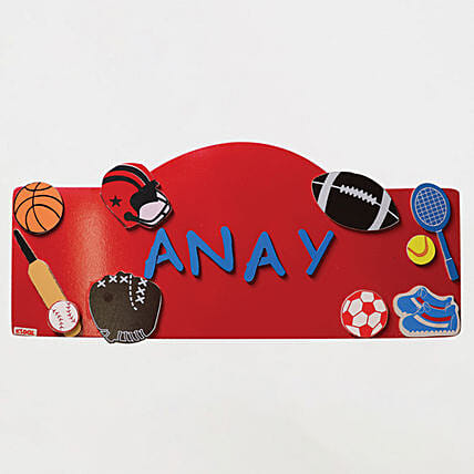 Online Name Plaque - Sports