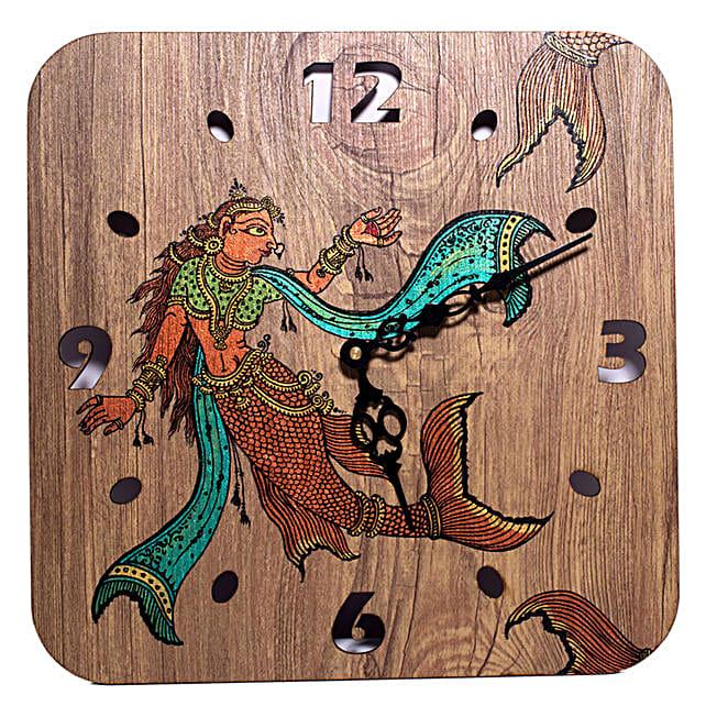 Decorative Handpainted Wall Clock:Wall Clock Gifts