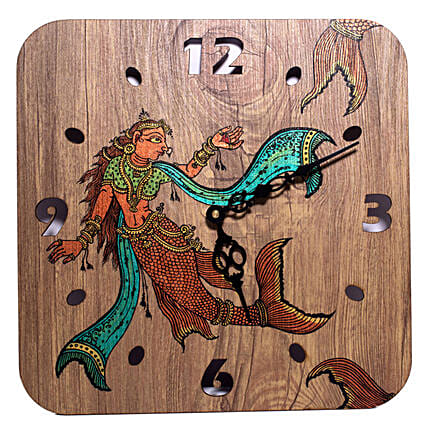 Decorative Handpainted Wall Clock