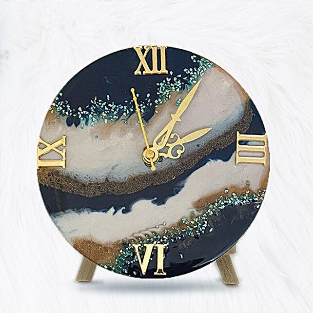 Online Black sand Desk clock