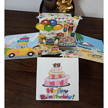 Online Folding Card For Birthday