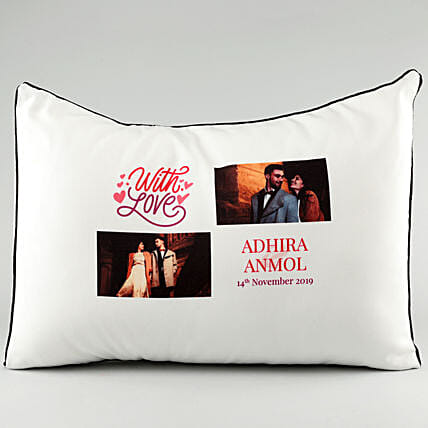 Photo Pillow Cover for Couples:Personalised Pillow-covers