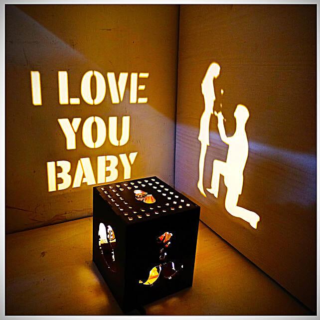 I Love You Shadow Box