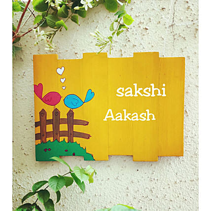 Quirky Name Plate Online