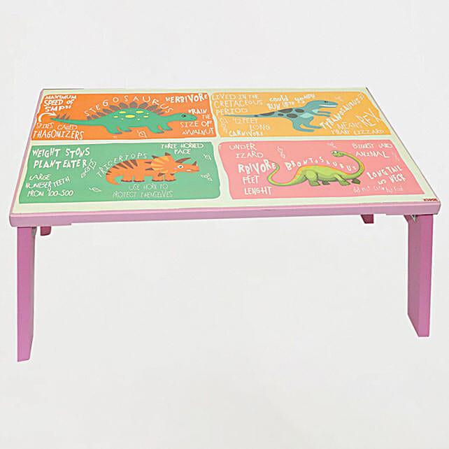 Bed Table Dinosaur PinkOnline