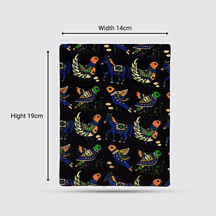 Chirping Sparrow Cotton Paper Notebook