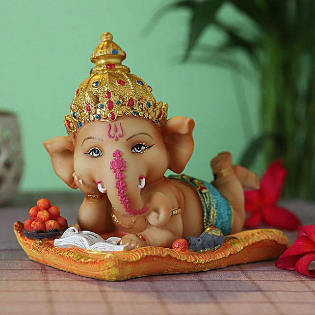cute lord bal ganesha idol:Diwali Idols