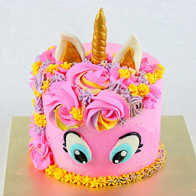 OnlinePink Unicorn Chocolate Cake