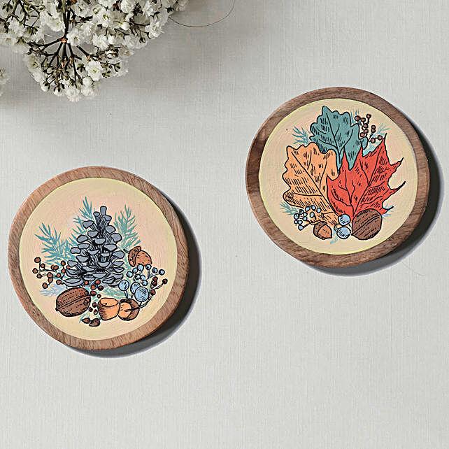 Colorful Haindapinted Coasters