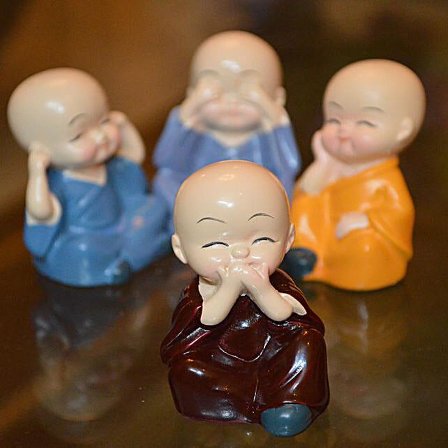 Spiritual Baby Buddha Monks :Buddha Gifts