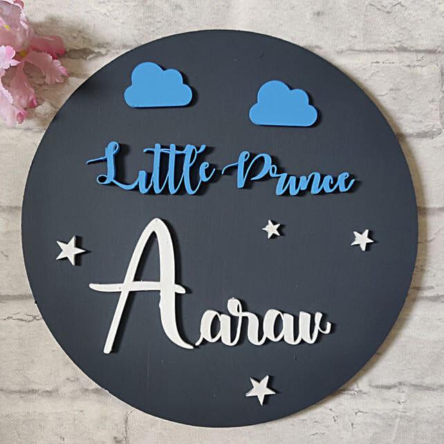 Hainpainted Prince Nameplate