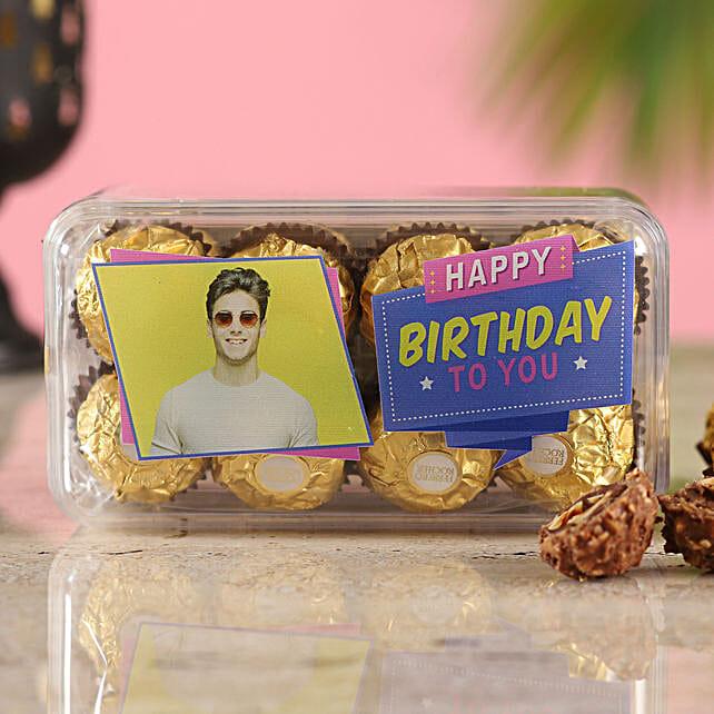 Personalised Ferrero Rocher Birthday Box