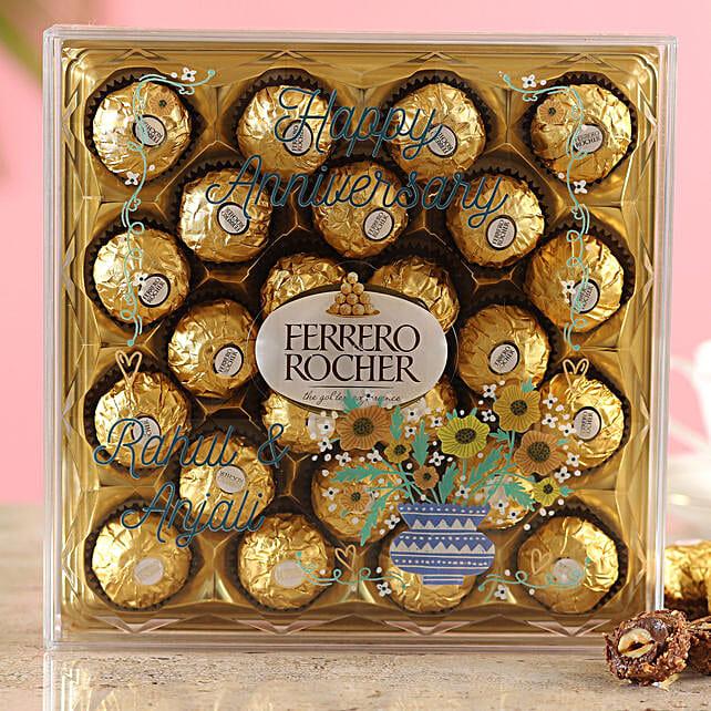 Printed Anniversary Ferrero Rocher Box