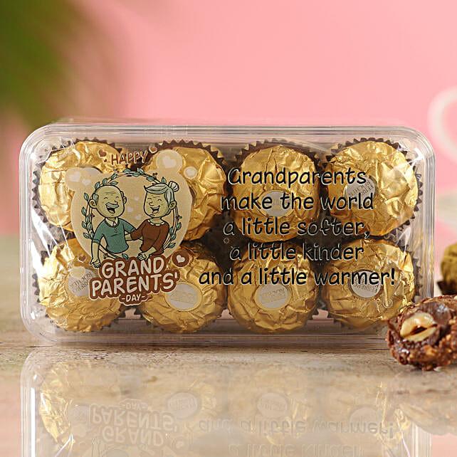 Printed Ferrero Box For Grandparents:Send Gifts to Muzaffarpur