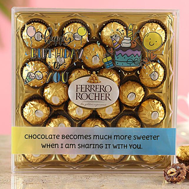 Special Birthday Ferrero Rocher Box:Birthday Gifts in Pune