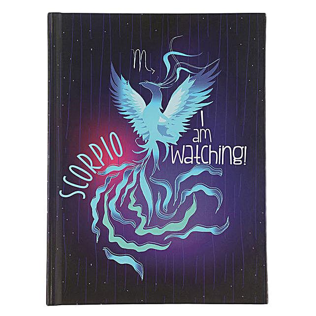 Online Scorpio Hardcase Notebook:Handcrafted Gifts