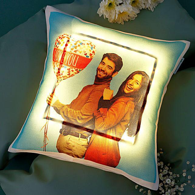 photo cushion for couple
