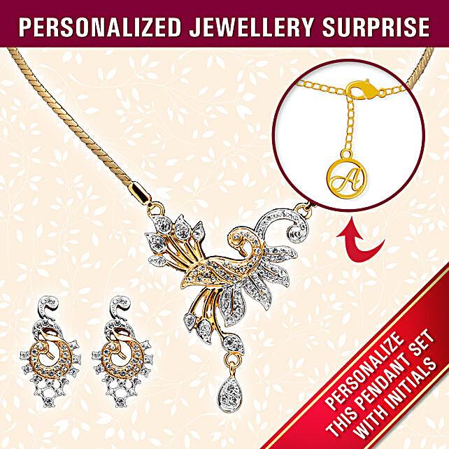 personalised pendant set online
