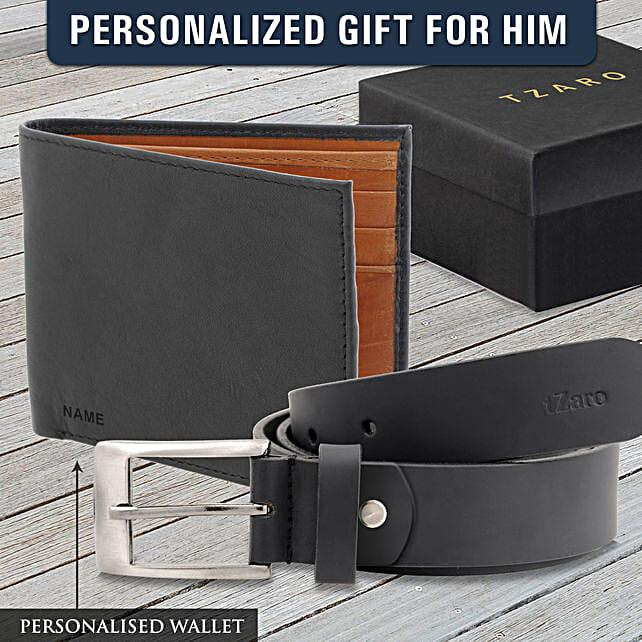 personalised wallet n belt for boyfriend