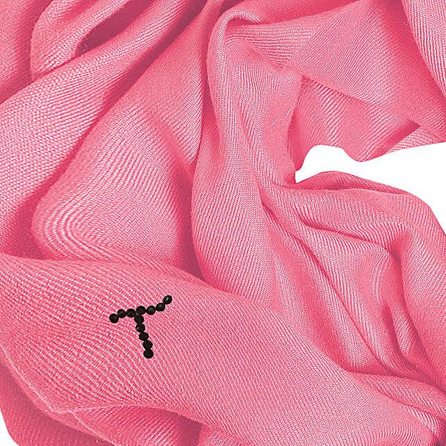 Online Customised Pink Pashmina