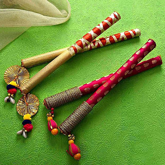Beautiful Dandiya Sticks