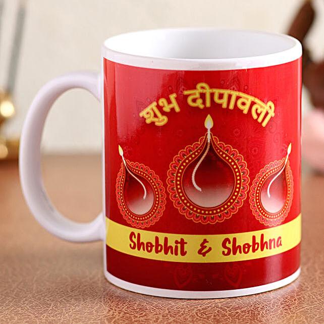 online printed mug for diwali