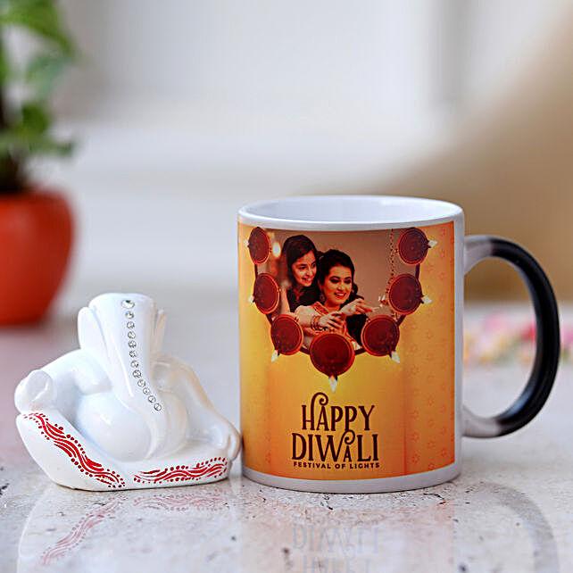 personalised magic mug or ganesha combo for diwali