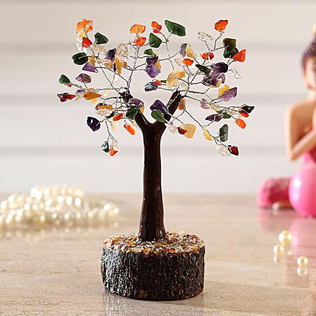 Bright 5 Stones Multicoloured Wish Tree:Valentines Day Wish Trees