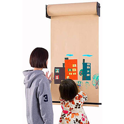 wall mounted scroll down art canvas:Stationery Gifts