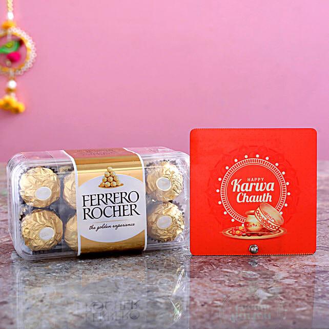 Table Top & 16 Pcs Ferrero Rocher Box combo