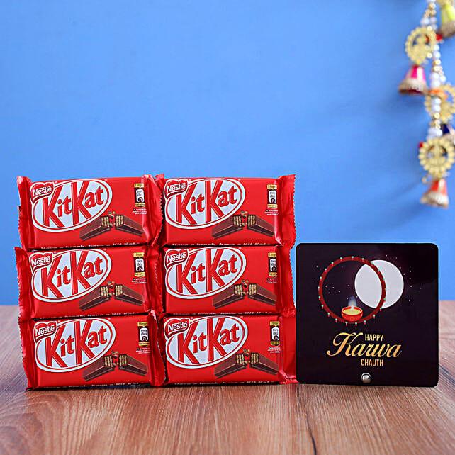 Karwa Moon Table Top or Kitkat Chocolates Combo