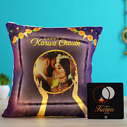 online personalised karwa chauth item for her