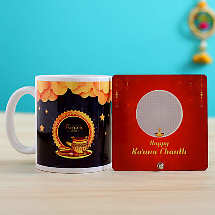 online personalised karwa chauth item for wife
