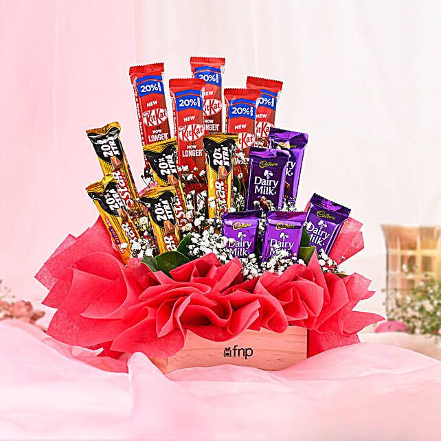 Chocolates Basket Arrangement