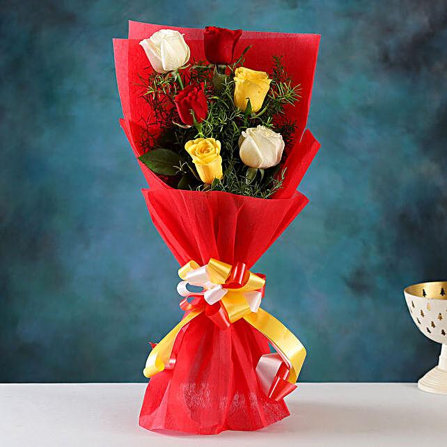 Online Send Mixed Roses Affair