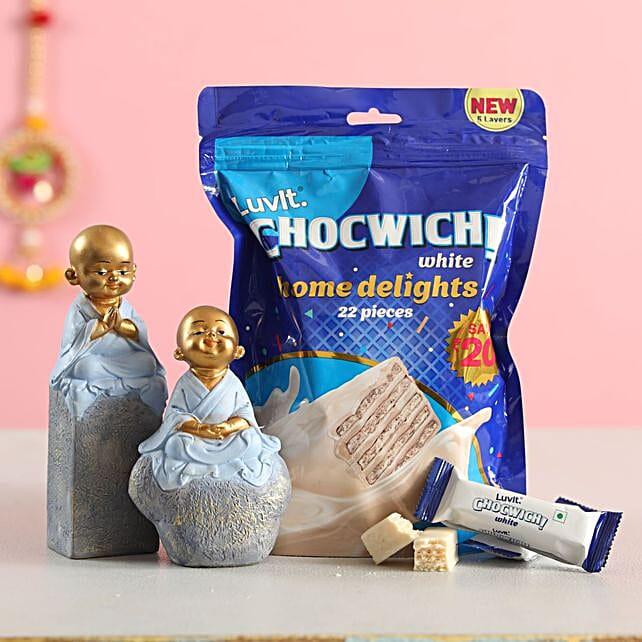 monk set chocwich combo