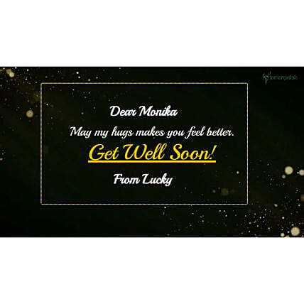 Get Well Soon Personalised Video- For Her:Personalised Video Messages