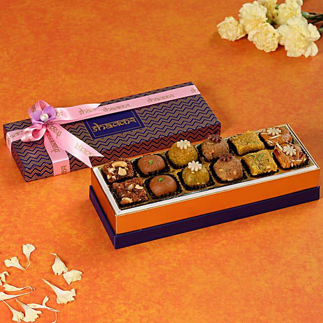 Dark Purple Festive Sweet Box