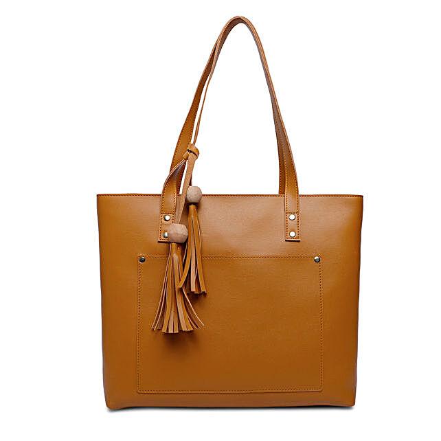 Bagsy Malone Women's Tote Bag- Walnut Brown:Tote Bags