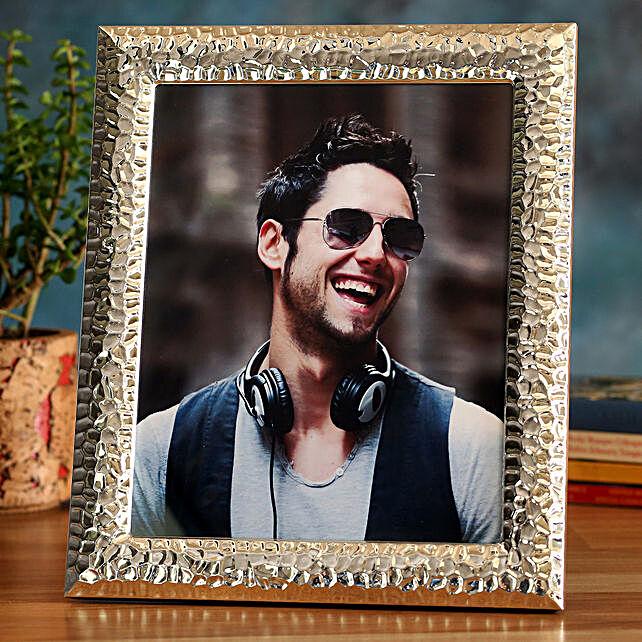Online Golden Personalised Photo Frame