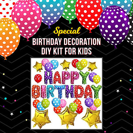Special Birthday Decoration Kit For Kid