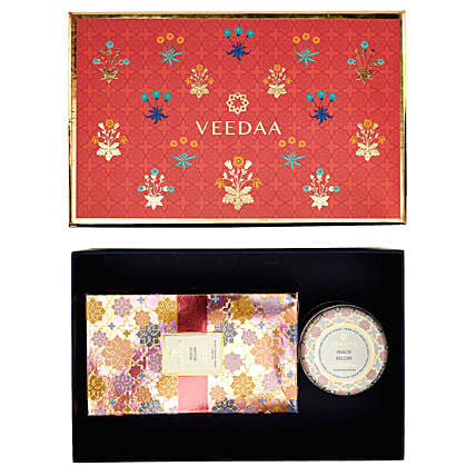 Veedaa Peach Bellini Scented Gift Set