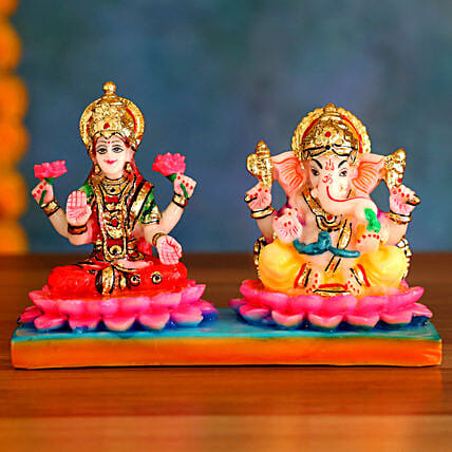Divine Lakshmi Ganesh Idols:Idols For Diwali